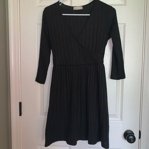 altar'd state black knit dress